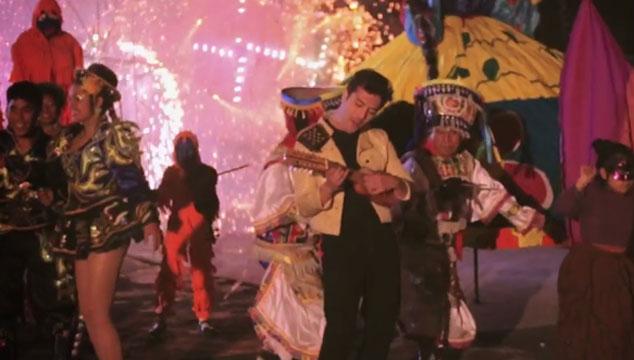 """imagen Gepe hace una gran fiesta en Perú para su nuevo videoclip """"Bomba Chaya"""""""
