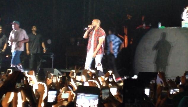 imagen Kanye West se presenta de sorpresa con Tyler, the Creator y Earl Sweatshirt