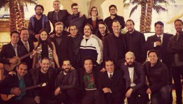 imagen Los venezolanos nominados a los Latin Grammys están preparados para la ceremonia (FOTO)