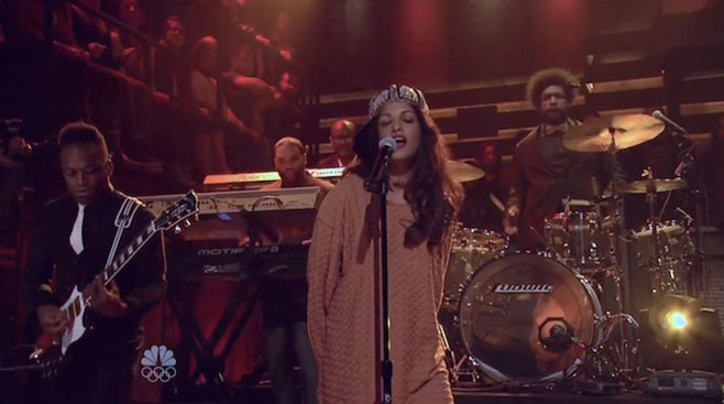 imagen M.I.A. tocó con The Roots en el show de Jimmy Fallon (VIDEO)