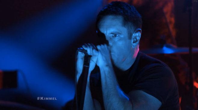 imagen 25 años después, Nine Inch Nails se presenta por primera vez en televisión (VIDEO)