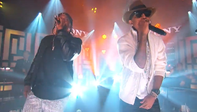 "imagen Pusha T y Pharrell Williams cantan ""Snitch"" a dúo en 'Jimmy Kimmel Live!' (VIDEO)"