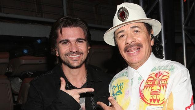 """imagen Santana regresa versionando """"La Flaca"""" de Jarabe de Palo junto a Juanes"""