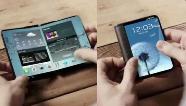 imagen Samsung confirma que lanzará teléfonos con pantallas plegables en 2015