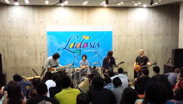 imagen Publican concierto completo de Del Pez tocando temas inéditos en el Centro Cultural Chacao