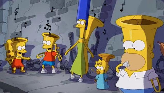 imagen El homenaje de 'Los Simpsons' al corto 'Music Land' de Disney (VIDEO)