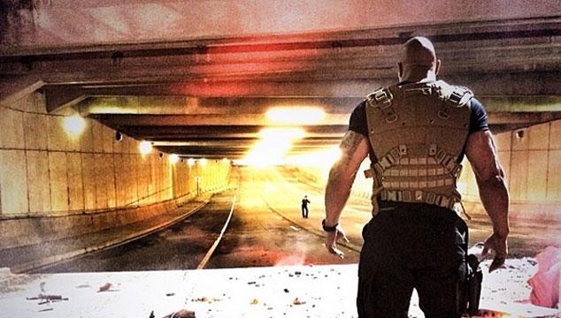 imagen Dwayne 'The Rock' Johnson publica una foto de 'Rápido y Furioso 7'