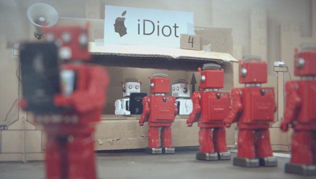 imagen 'iDiots', el corto que satiriza sobre el comportamiento de la sociedad