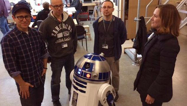 imagen Primera foto de J.J. Abrams desde el set de grabación de 'Star Wars: Episodio VII'