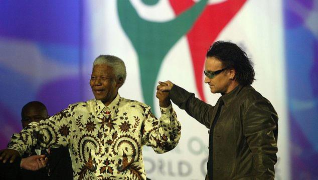imagen Canciones que fueron dedicadas a Nelson Mandela