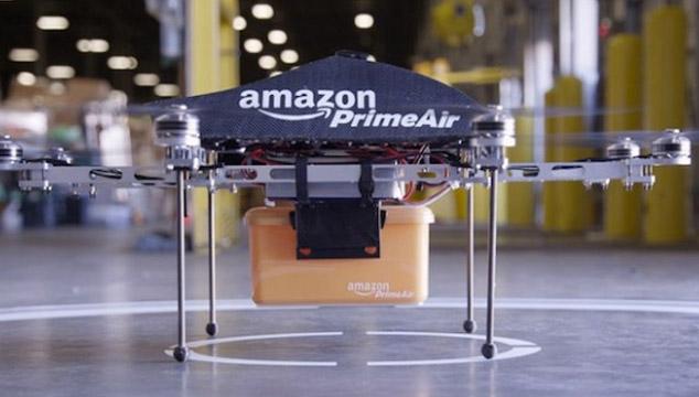 imagen El futuro está aquí: Amazon revela Prime Air, su servicio de entrega de paquetes mediante drones