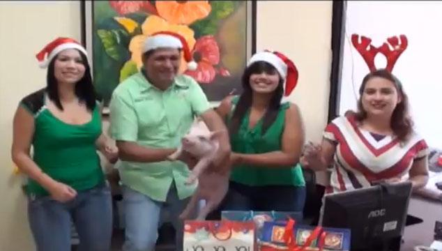 imagen Nos equivocamos, el peor mensaje navideño de 2013 no es el de Canal I, es este… (VIDEO)