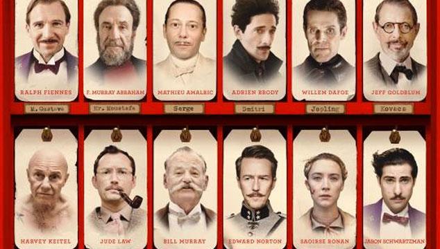 imagen Nuevo y genial afiche de 'El Gran Hotel Budapest' de Wes Anderson