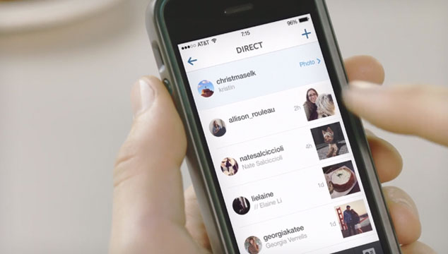 imagen Instagram anuncia nueva función de mensajería privada