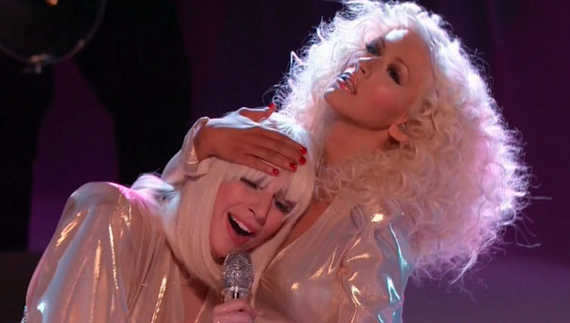 "imagen Lady Gaga y Christina Aguilera cantan ""Do what u want"" a dúo en 'The Voice' (VIDEO)"