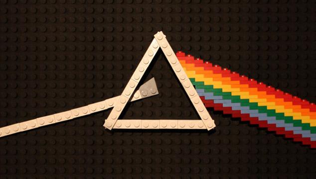 imagen Un artista recreó portadas de discos emblemáticos con LEGOS (FOTOS)