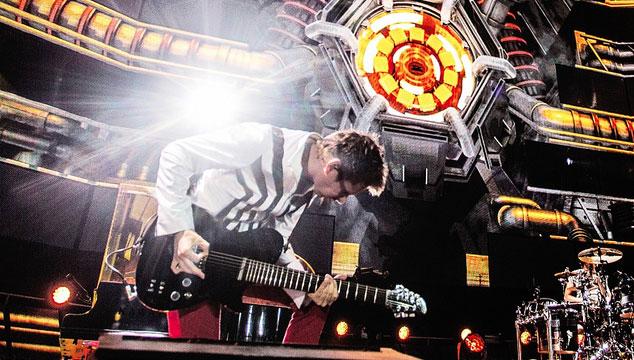 imagen Muse deja escuchar 'Live at Rome Olympic Stadium', su nuevo disco en vivo