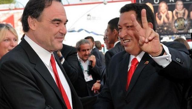 imagen Oliver Stone hará una película sobre Hugo Chávez