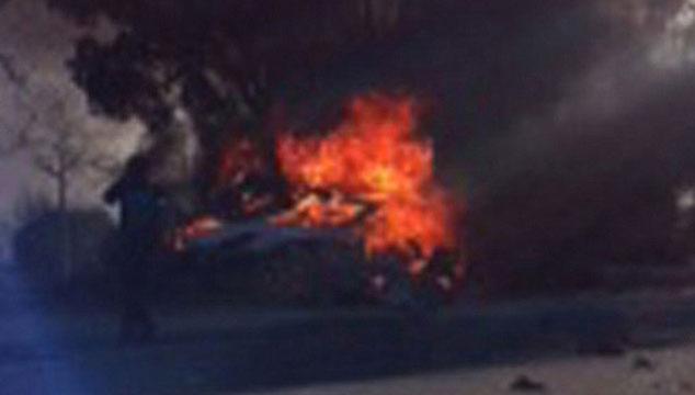 imagen Aparece un video del momento exacto en el que se estrella el auto de Paul Walker
