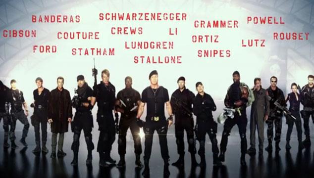 imagen Presentan un adelanto de 'The Expendables 3' (VIDEO)