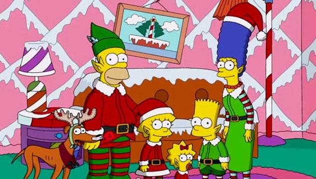 imagen El intro navideño de 'Los Simpsons' (VIDEO)