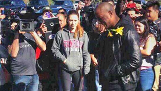 imagen Tyrese Gibson rompe a llorar en el lugar donde murió Paul Walker (VIDEO)