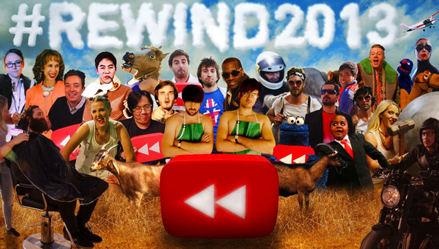 imagen Esto fue lo más visto en 2013 según YouTube, reunido en un solo video
