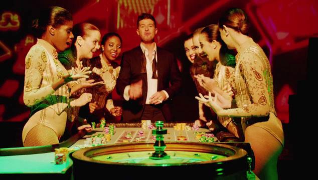 """imagen Robin Thicke debuta el videoclip de """"Feel Good"""""""