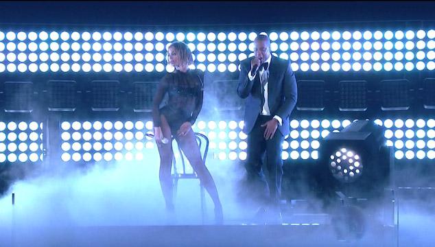 """imagen La presentación de Beyoncé y Jay Z cantando """"Drunk in love"""" en los Grammys (VIDEO)"""