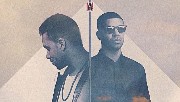 imagen Así suena Drake cantando en español junto a Romeo Santos (AUDIO)