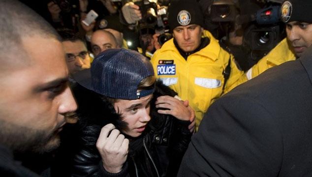 imagen Justin Bieber volvió a ser arrestado en Toronto (FOTOS)