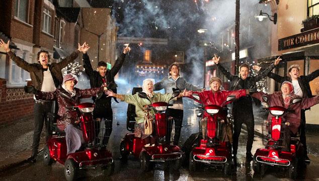 "imagen One Direction estrena su videoclip ""Midnight Memories"""