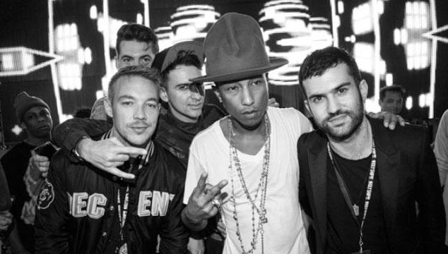 """imagen Major Lazer estrena el tema """"Aerosol Can"""" con colaboración de Pharrell Williams"""