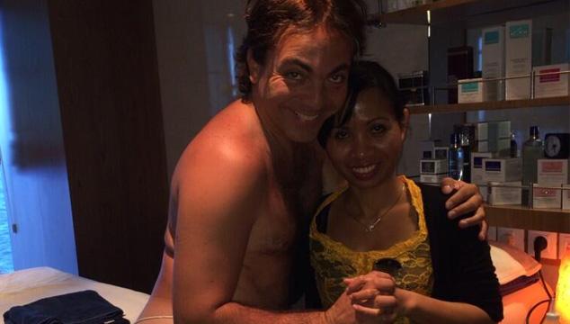 imagen Cristian Castro causa revuelo por subir a Twitter una foto semidesnudo