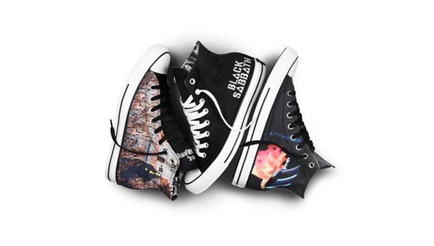 imagen Black Sabbath y Converse lanzan zapatos con imágenes de la banda