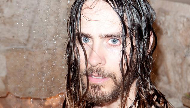 imagen Jared Leto semidesnudo en sesión de fotos para Terry Richardson