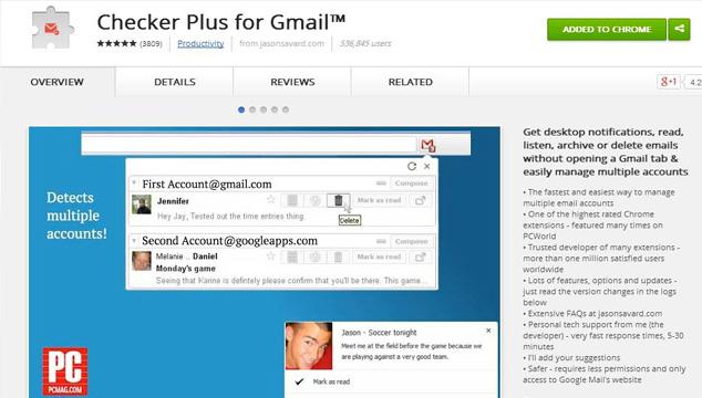imagen Gestiona mejor tu Gmail con esta genial extensión para Chrome
