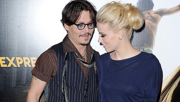 imagen Johnny Depp se compromete con la actriz y modelo Amber Heard
