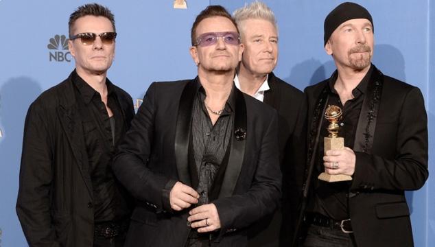 imagen U2 serán los primeros invitados musicales de 'Tonight Show with Jimmy Fallon'