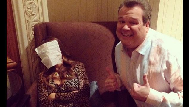 imagen Esto es lo que pasa cuando Sofía Vergara se queda dormida en el set de 'Modern Family'