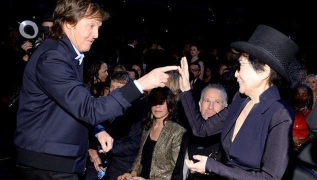 imagen En los Grammys todo el mundo quería una foto con Paul McCartney