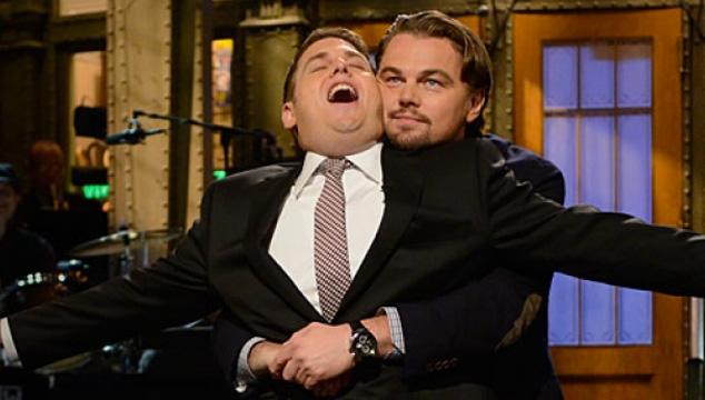 imagen Leonardo DiCaprio interrumpe el monólogo de Johah Hill en 'Saturday Night Live'