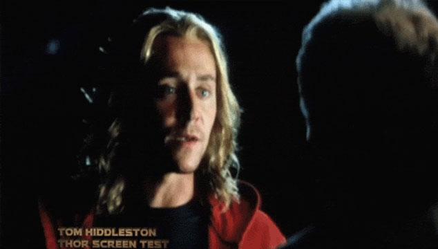 imagen Aparecen imágenes de Tom Hiddleston (Loki) audicionando para Thor (VIDEO)