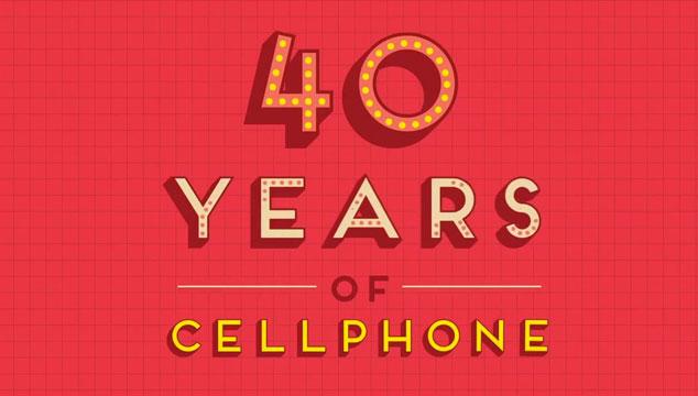 imagen Cuarenta años de teléfonos celulares en un minuto (VIDEO)