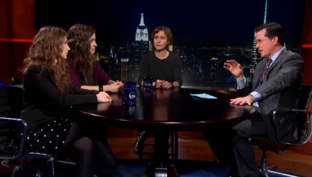 imagen Entrevista a las Pussy Riot en 'The Colbert Report' (VIDEO)