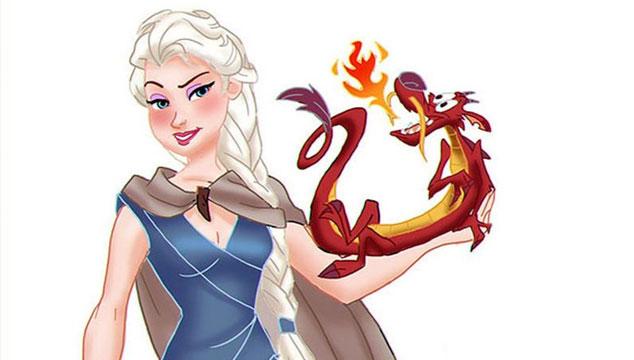 imagen Las chicas de Disney, versión 'Game of Thrones' (GALERÍA)
