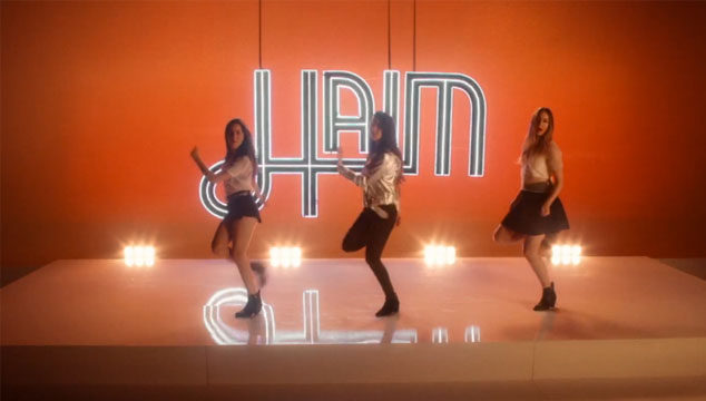 "imagen HAIM estrena el noventero videoclip de ""If I Could Change Your Mind"""