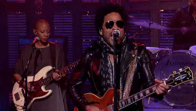 "imagen Lenny Kravitz versiona ""Get Back"" de The Beatles (VIDEO)"