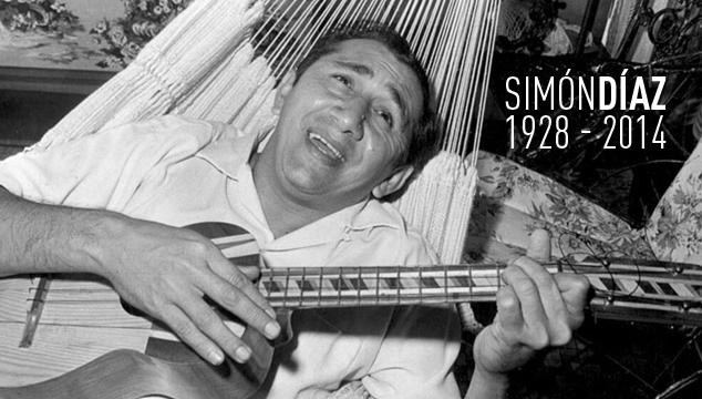 imagen Falleció Simón Díaz