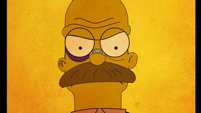 imagen 36 mashups de Los Simpsons con íconos de la cultura pop (FOTOS y VIDEO)